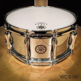 Sakae Sakae 6.5x14 Steel Snare Drum