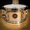 Sakae 4x10 Maple Effect Snare Drum in Natural