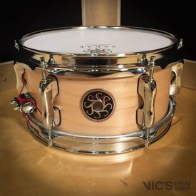 Sakae Sakae 4x10 Maple Effect Snare Drum in Natural