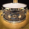 DW Collector's Maple 7x14 Snare Drum in FP Peacock Oyster