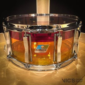 Ludwig Ludwig Vistalite Tequila Sunrise 6.5x14 Snare Drum