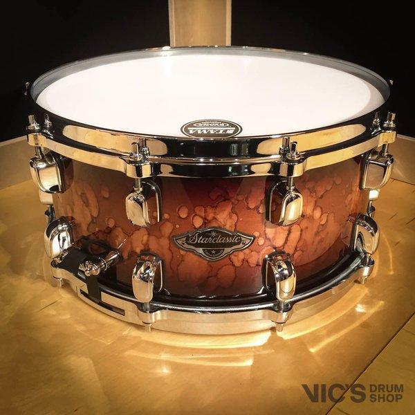 Tama Tama Starclassic Performer B/B 6.5x14 Snare Drum in Molten Brown Burst