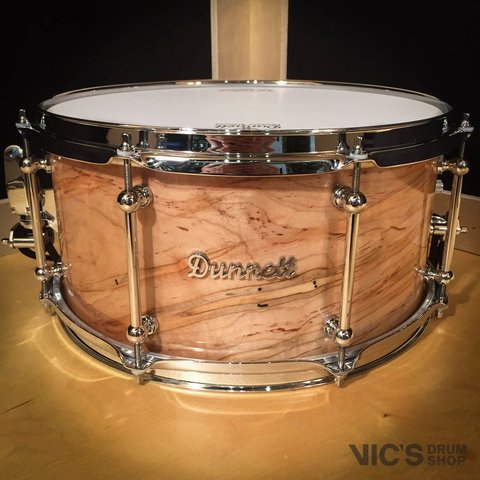 Dunnett Classic Monoply X Class 7x14 Ambrosia Maple Snare Drum