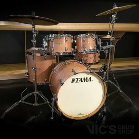 Tama Tama Starclassic Maple Clinic Kit 4 Piece Shell Pack in Exotic Figured Maple Gloss Finish