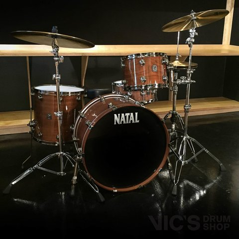 Natal Originals Series Walnut 3 Piece Shell Pack