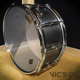 Craviotto Craviotto Solitaire Series 6.5x14 Snare Drum in Aged Pewter Finish