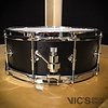 Craviotto Solitaire Series 5.5x14 Snare Drum in Matte Black Finish