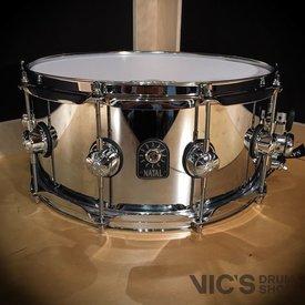 Natal Natal Steel 6.5x14 Snare Drum