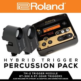 Roland Roland Hybrid Percussion Pack; Includes x1 TM-2, x1 RT-30K, x1 RT-30HR, x1 Multi Clamp