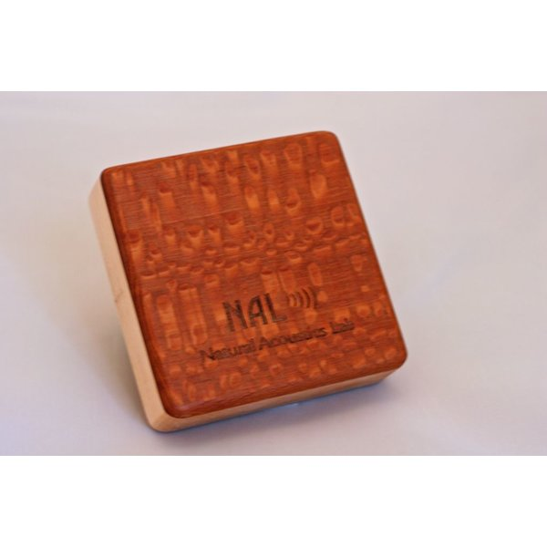 NAL Box Shaker Lacewood Pixie 2.5 inch