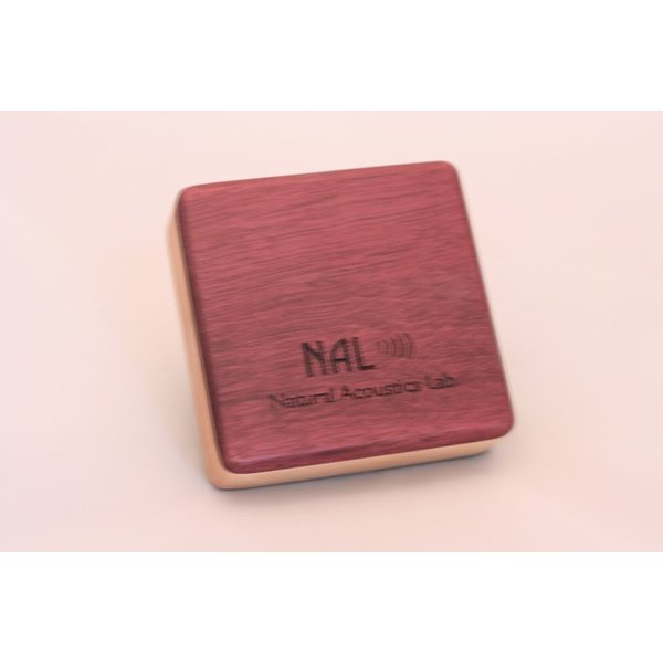 NAL Box Shaker Purple Heart Alto 4.0 inch