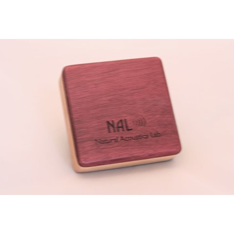 NAL Box Shaker Purple Heart Soprano 3.5 inch