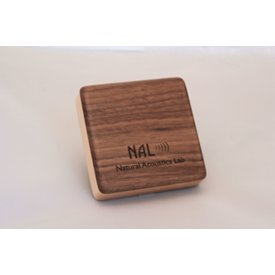 NAL Box Shaker Walnut Piccolo 3.0 inch