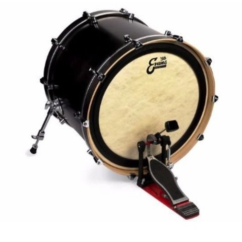 """Evans EMAD Calftone 18"""" Bass Drumhead"""