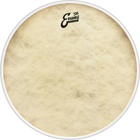 "Evans 15"" Calftone Tom Drumhead"