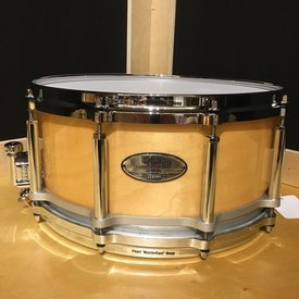 Used Used Pearl Free Floating 6.5x14 Maple Snare Drum