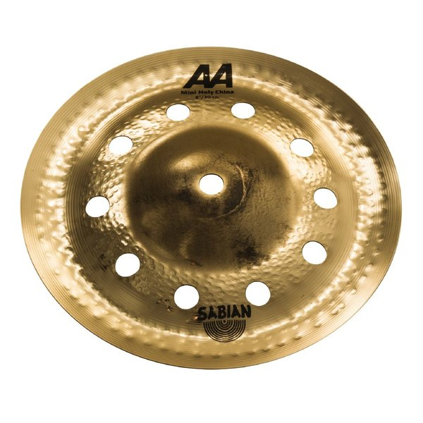 "Sabian Sabian AA 8"" Mini Holy China; Brilliant"