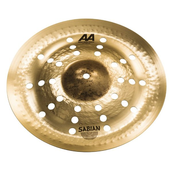 "Sabian Sabian AA 12"" Mini Holy China; Brilliant"