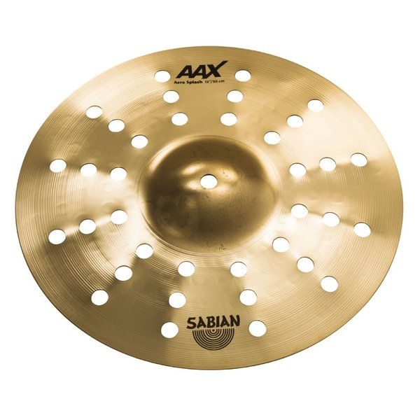 "Sabian Sabian AAX 12"" Aero Splash; Brilliant"