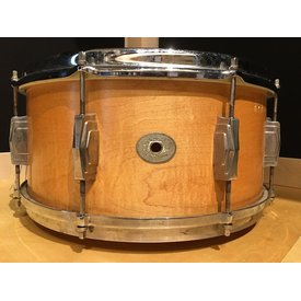 Vintage Ludwig & Ludwig 1920's Standard 6.5x14 Snare Drum; Heavily Modified