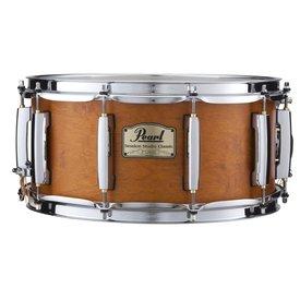 Pearl Pearl Session Studio Classic 6.5x14 Snare Drum in Matte Liquid Amber