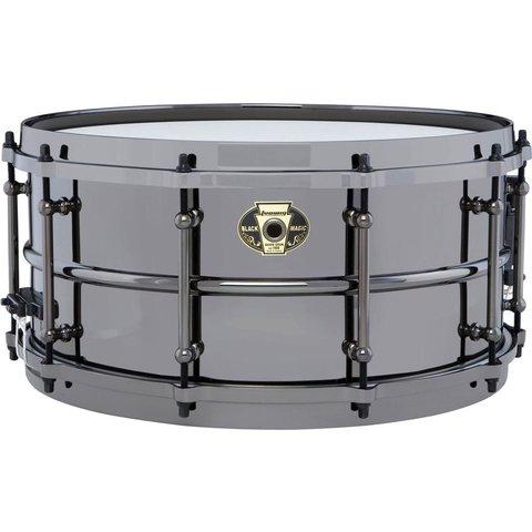 Ludwig LW6514 Black Magic 6.5x14 Brass Snare Drum