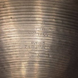 "Used Vintage Zildjian 1970's 20"" Mini Cup Ride Cymbal"