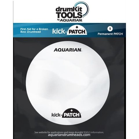 Aquarian Kick-Patch Bass Drumhead Temporary Repair Patch