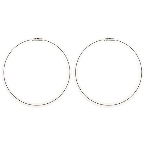 "Aquarian Studio Rings 15"" (2-Pack)"