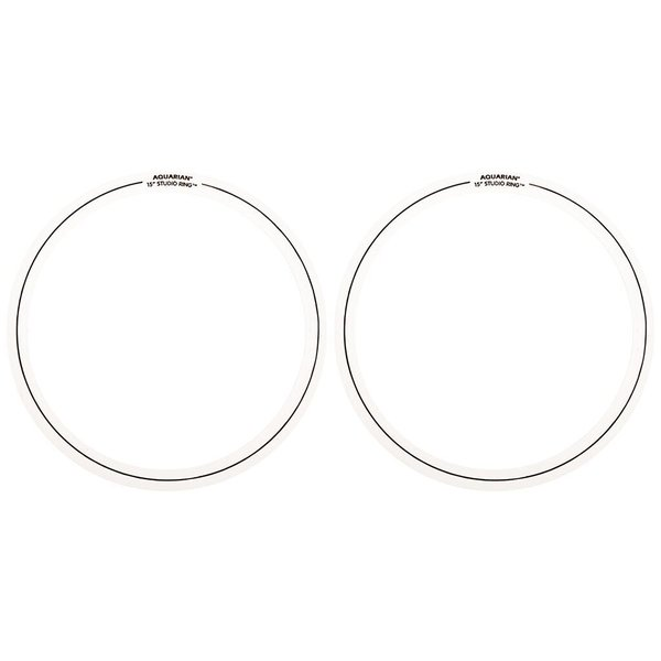 "Aquarian Aquarian Studio Rings 15"" (2-Pack)"
