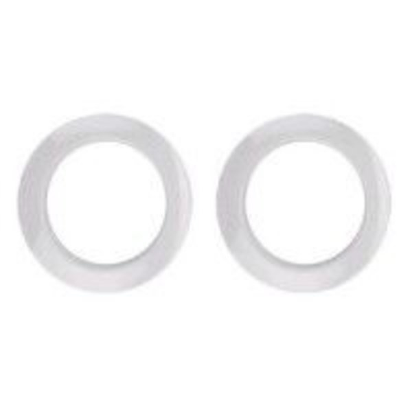 "Bass Drum O's Bass Drum O's 2"" White Drum O's/Tom Ports (2 Pack)"