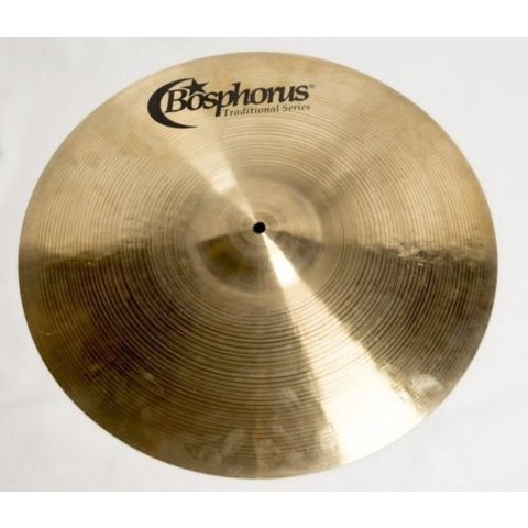 "Bosphorus Traditional Series 20"" Thin Ride Cymbal"