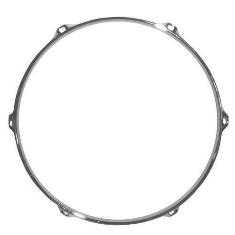 "Cannon 1.6mm 15"" Chrome 8 hole Batter Hoop"