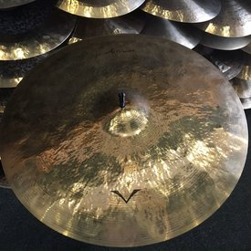 "Used Used Sabian Artisan 22"" Light Ride Cymbal Brilliant"