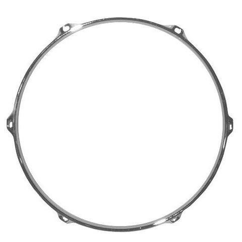 "Cannon 1.6mm 14"" Chrome 6 Hole Snare Hoop"