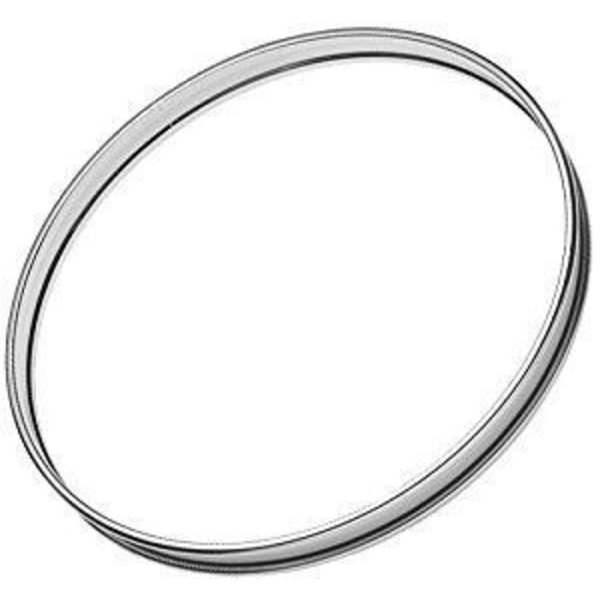 Cannon Cannon 22 Metal Bass Drum Hoop; Chrome