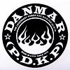 Danmar Bass Drum Impact Pad - Flame Graphic
