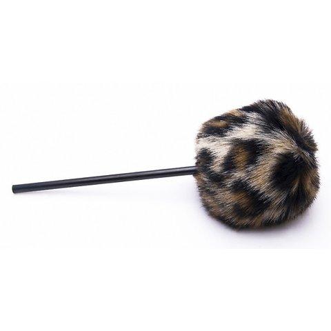 Danmar Fuzzy Beater - Tan Cheetah / Leopard