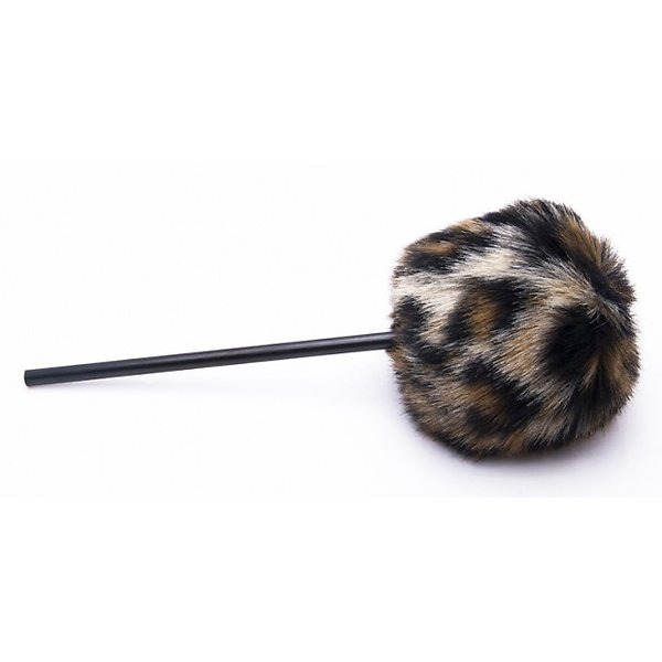Danmar Danmar Fuzzy Beater - Tan Cheetah / Leopard