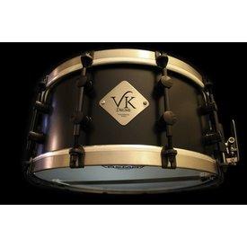 VK Drums Magnesium 6.5x14 Snare Drum w/ Titanium Straight Hoops