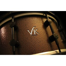 VK Drums T6 Aluminum 4 Piece Shell Pack in Antique Bronze Finish