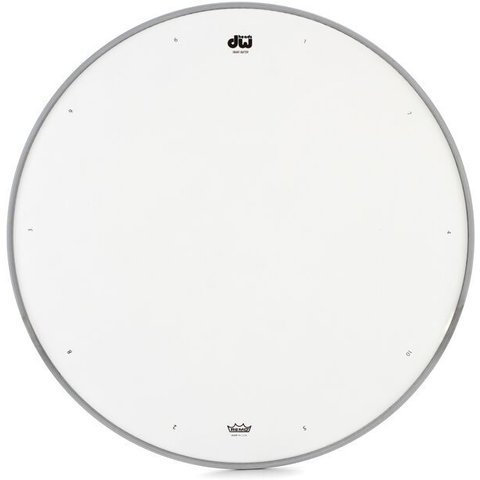 "DW 14"" Coated Drum Head W/ Tuning Sequence"