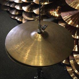 "Used Vintage Zildjian 15"" Avedis Hi Hat Cymbals - Thin"
