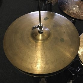 "Used Vintage Zildjian 15"" Avedis Hi Hat Cymbals"