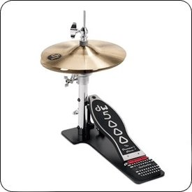 DW DW 5000 Series Low Boy Hi Hat Stand w/ Cymbals