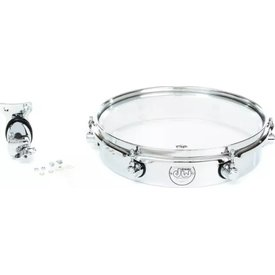 "DW DW Design Series 12"" Piccolo Tom w/ Bracket; Chrome"
