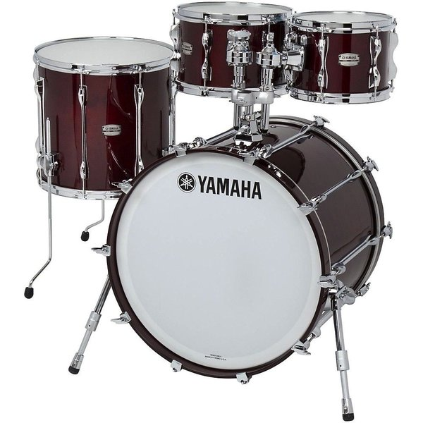 Yamaha Yamaha Recording Custom 4 Piece Shell Pack in Walnut Finish