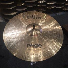 """Paiste Used Paiste Sound Formula 20"""" Power Ride"""