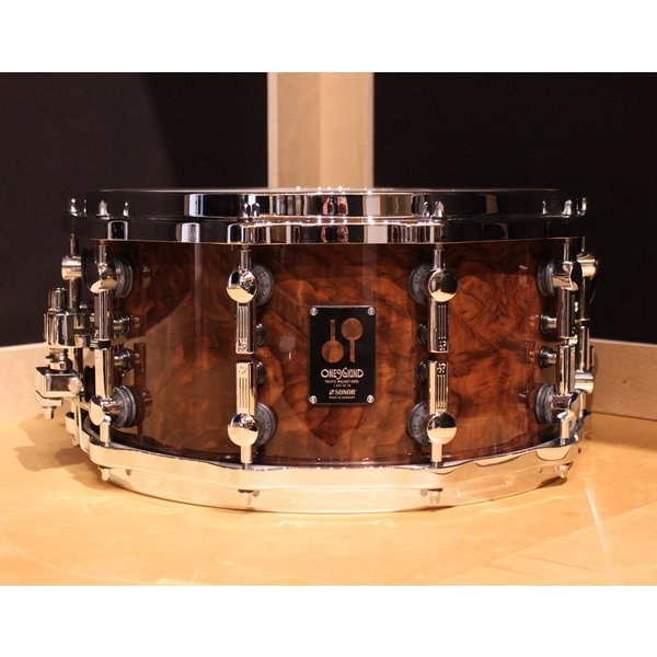 Sonor Sonor One-Of-A-Kind Pacific Walnut Burl 7x14 Snare Drum