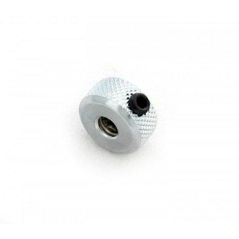 "DW Knurled Nut (No Step) 1/4-20"" (Toe Clamp)"